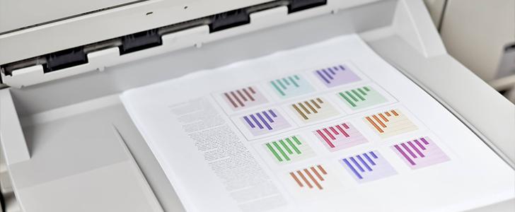 印刷コスト削減のためには、インクを節約することが非常に重要です。