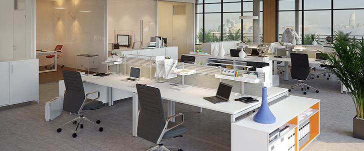オフィス家具選びとレイアウトで業務効率化